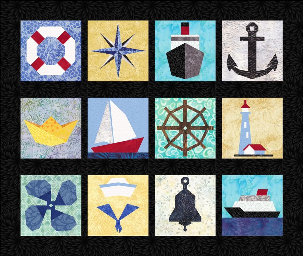 Nautical 12 Quilt Block Patterns Pdf Download Popular Quilt