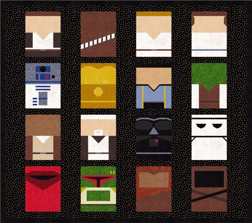 Star Wars Quilt Patterns Archives Popular Quilt